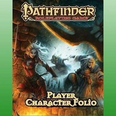 Pathfinder Roleplaying Game Player Character Folio by Bulmahn Jason