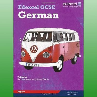 Edexcel GCSE German Higher Student Book by Wardle Michael