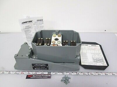 """New Gemco 2006-404L30A Rotary Limit Switch 600VAC 30:1 Ratio 5/16"""" Shaft 1"""" NPT"""