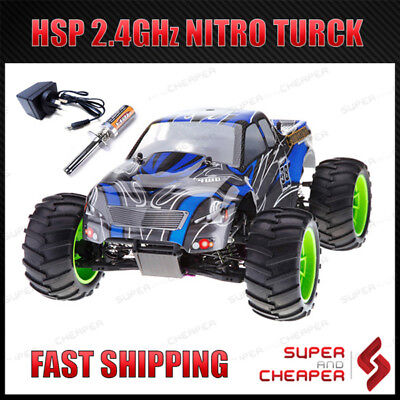 HSP 1/10  Monster RC Truck 94108 2.4Ghz Remote Control Nitro 4WD Off Road RC CAR