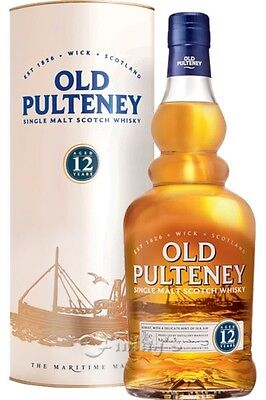 (52,50€/L) Old Pulteney 12 Jahre Whisky 0,7 L
