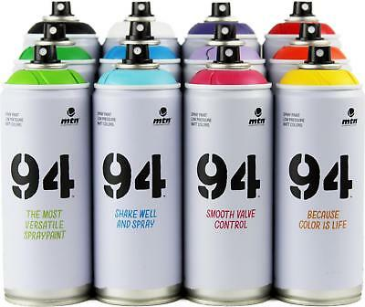 Mtn Montana 94 - Aerosol Art Spray Paint Cans - 400Ml - 12 Pack