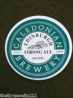 Beer Pump Clip - Caledonian Edinburgh Strong Ale