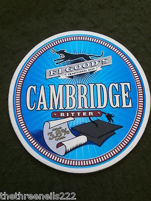 Beer Pump Clip - Elgood's Cambridge Bitter