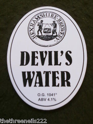 Beer Pump Clip - Hexhamshire Devil's Water