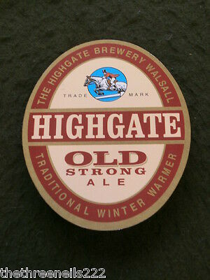 Beer Pump Clip - Highgate Old Strong Ale