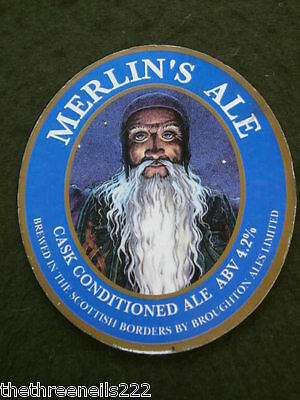 Beer Pump Clip - Merlin's Ale