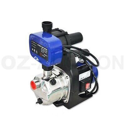 1200W 3700 L/H Stainless Steel Auto Electronic Garden Water Tank Pressure Pump