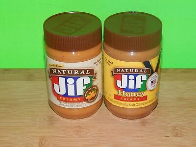 Jif Natural Peanut Butter Spread Creamy 16oz No Need To Stir