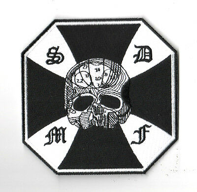 d8e71671ed9 Black Label Society Collections  Iron On New Zakk Wylde Bls Skull Cross 4.5