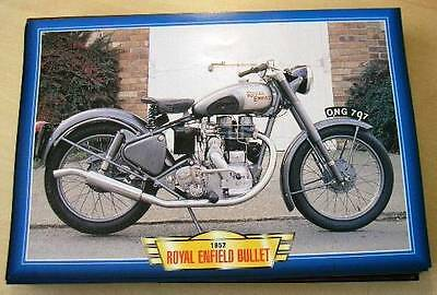 Royal Enfield Bullet 350 Single Vintage Motorcycle Bike 1950's Picture 1952