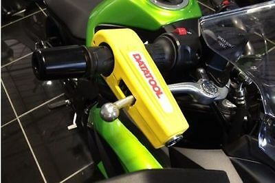 Datatool Croc-Lock Motorcycle Scooter Handlebar Throttle Grip Lock Security Lock