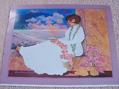 Diana Hansen-Young 1995 Hawaiian Picture Print