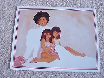 "DIANA HANSEN-YOUNG HAWAIIAN PICTURE PRINT 8.5"" x 11"""