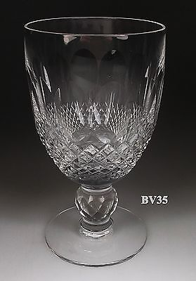 "Waterford Crystal Colleen Claret Wine Goblets   4 3/4"" - Perfect"