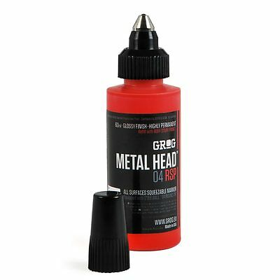 Grog - Metal Head Paint Marker - Steel Tip Pen - Mark Any Surface - Permanent