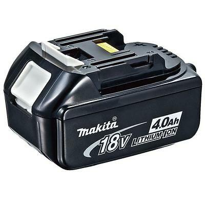 Makita Bl1840 18 Volt Cordless Battery Lithium Ion 4.0Ah Genuine 1 Year Warranty