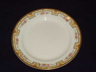 GRINDLEY AFTON BREAD BUTTER PLATE(S) PINK ROSES FLOWER