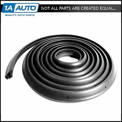 Rear Hatchback Liftback Seal Set Rubber Weatherstrip for 73-74 Pontiac GM Chevy