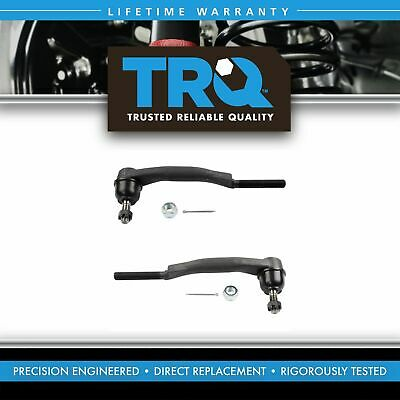 Outer Tie Rod End LH Left & RH Right for Trailblazer Envoy Ascender Bravada