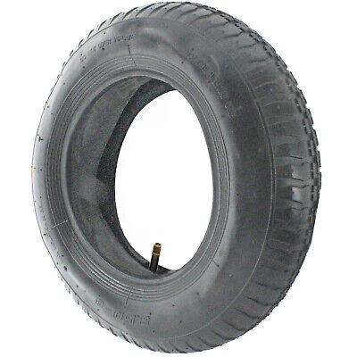 Garden Tipper Trailer Wheel Inner Tube and Tyre 3.50 - 8 Rubber Innertube 35 PSi