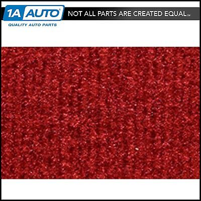 for 1986-89 Chevy Corvette Convertible w/ Padding 8801-Flame Red Cargo Carpet
