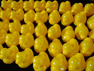 New 100 Yellow Floating Plastic Bath Ducks Fun Toy. Loads!! Duck Races Fetes ++