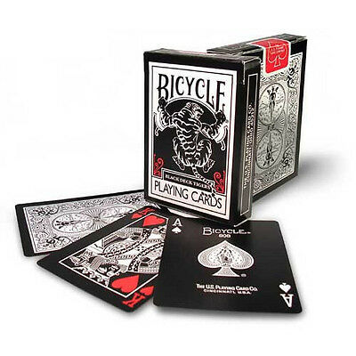Carte Bicycle Black Tiger Red by Ellusionist + 1 Cut Card in Omaggio