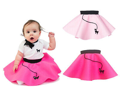 Hip Hop 50s Shop Baby/Infant Girls 6-12 Month Poodle Skirt Halloween Costume