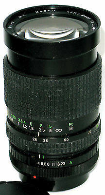 COSINA 28-85mm f4-5 MC FOR CANON FD MANUAL FOCUS CAMERAS CLEAN GLASS AND BARREL