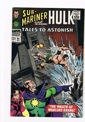Tales to Astonish # 86  Hulk Sub-Mariner grade 8.5 scarce hot book !!