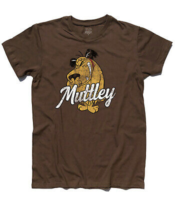 T-SHIRT MUTTLEY 1 di Dick Dastardly serie Wacky Races, Penelope Pigeon Clyde