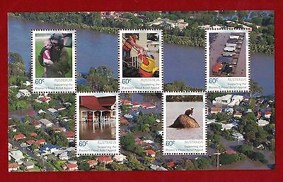 2011 Australia, Supporting the Premier's Flood Relief Appeal Stamps