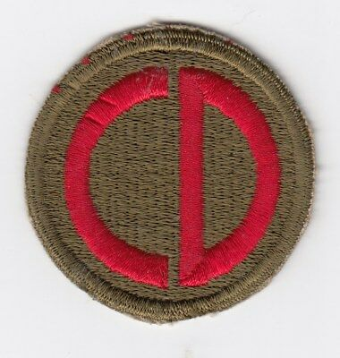 Us Army Patch - 85Th Infantry Division - Custer Division - Original Wwii