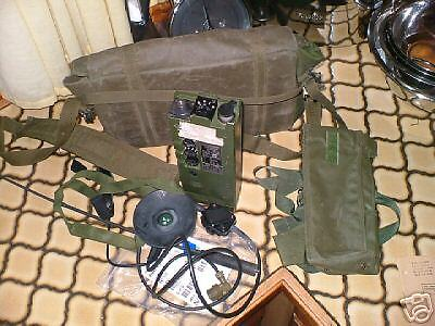 CLANSMAN RACAL PLESSEY MILITARY PRC349 WORKING SET