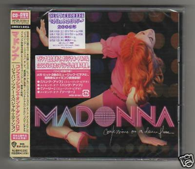 MADONNA- Confessions on a Dance Floor-CD+DVD JAPAN NEW mint sealed