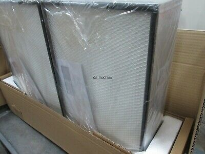 New Lot of 2 Camfil MGA-305x457x110 H14 Air Filter 99.9991% - 99.9992% Eff