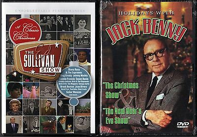 A Classic Christmas From the Ed Sullivan Show (DVD) & Holidays with Jack Benny