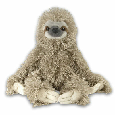 "Sloth Three Toed soft plush toy by Wild Republic 16""/40cm Full NEW 12"" Sitting"