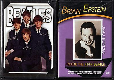 The Beatles - Intimate Scrapbook (2006, DVD) & Brian Epstein: ITFB ((2004, DVD)