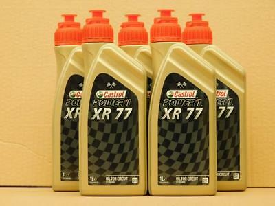 15,80€/l Castrol Power 1 XR 77  Hochleistungs 2-T-Öl  5  x 1 L