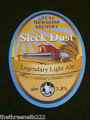 Beer Pump Clip - Great Newsome Sleck Dust
