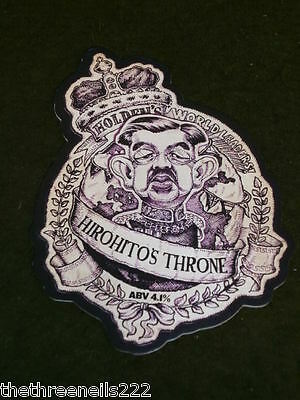 Beer Pump Clip - Holdens World Leaders Hirohitos Throne