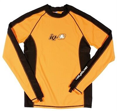 iQ UV 300 Shirt Watersport LS iQ Orange Men Gr. S