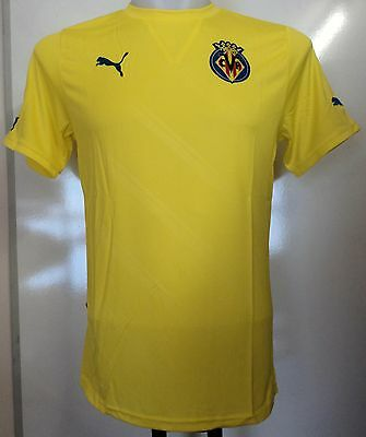 Villareal 2011/12 Home Shirt By Puma Adults Size Small Brand New With Tags