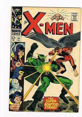 X-Men # 29  The Super Adaptoid Strikes !  grade 8.0 scarce hot book !!