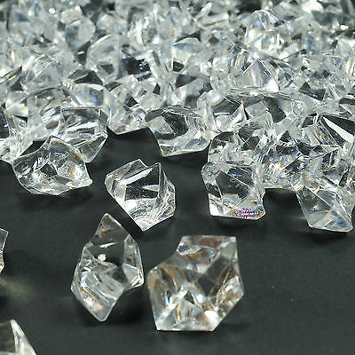 New 500grams Clear Acrylic Ice Crystals Wedding Table Scatters Decorations