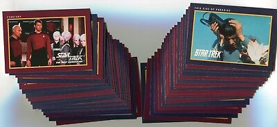 STAR TREK 25th Anniversary 1991 Base Card LOT!!! NM/M 137 Cards IMPEL #1