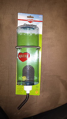 KAYTEE CLEAR WATER BOTTLE 32 OZ SUPER PET SMALL ANIMAL FREE SHIP TO THE USA
