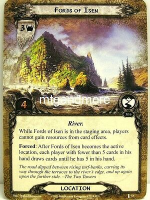 Lord of the Rings LCG  - 1x Fords of Isen  #018 - The Voice of Isengard